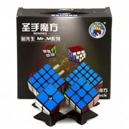 Набор кубиков SHENGSHOU MR. M MAGNETIC 2X2-5X5